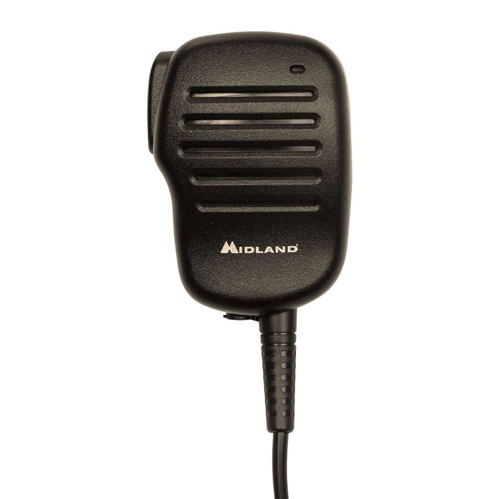 Midland Radio BA4 BizTalk BA4 Speaker Mic w/ PTT Button &...