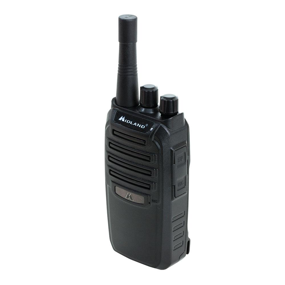 Midland Radio BR200X6BGC BizTalk™ Bundle w/ (6) BR200 Business Radios & (6) Capacity Gang Charger