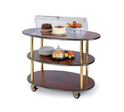 Geneva 36303 Oval Dessert Cart w/ Domed Design