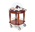 Geneva 70021 Round Dessert Cart w/ Domed Design
