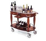 Geneva 70038 Oval Dessert Cart w/ Multi-Tiered Design