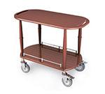 Geneva 70453 Oval Dessert Cart w/ Multi-Tiered Design
