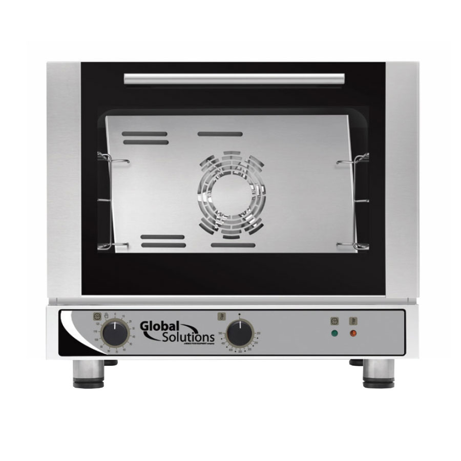 Global Solutions GS1105-17 Global Solutions Half Size Electric Convection Oven - 120v
