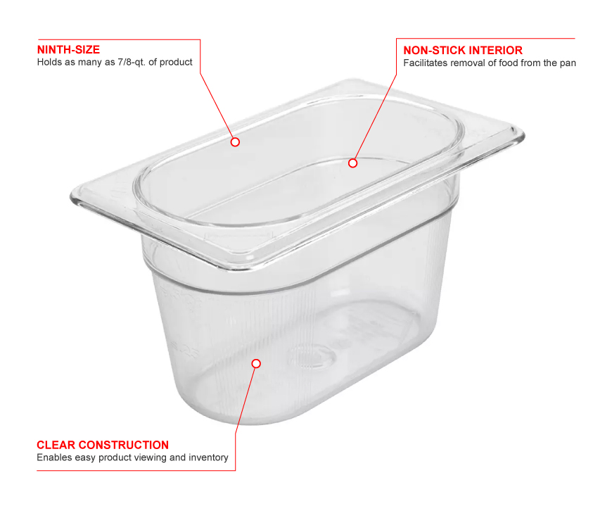 Rubbermaid 101p Features