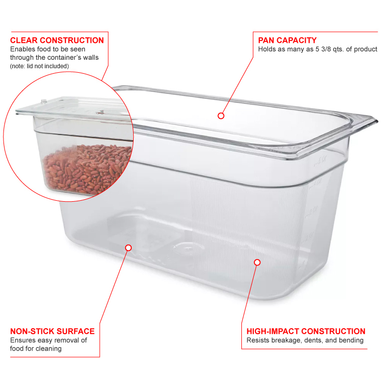 Rubbermaid 118p Features