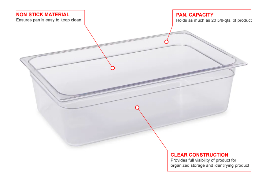 Rubbermaid 132p Features