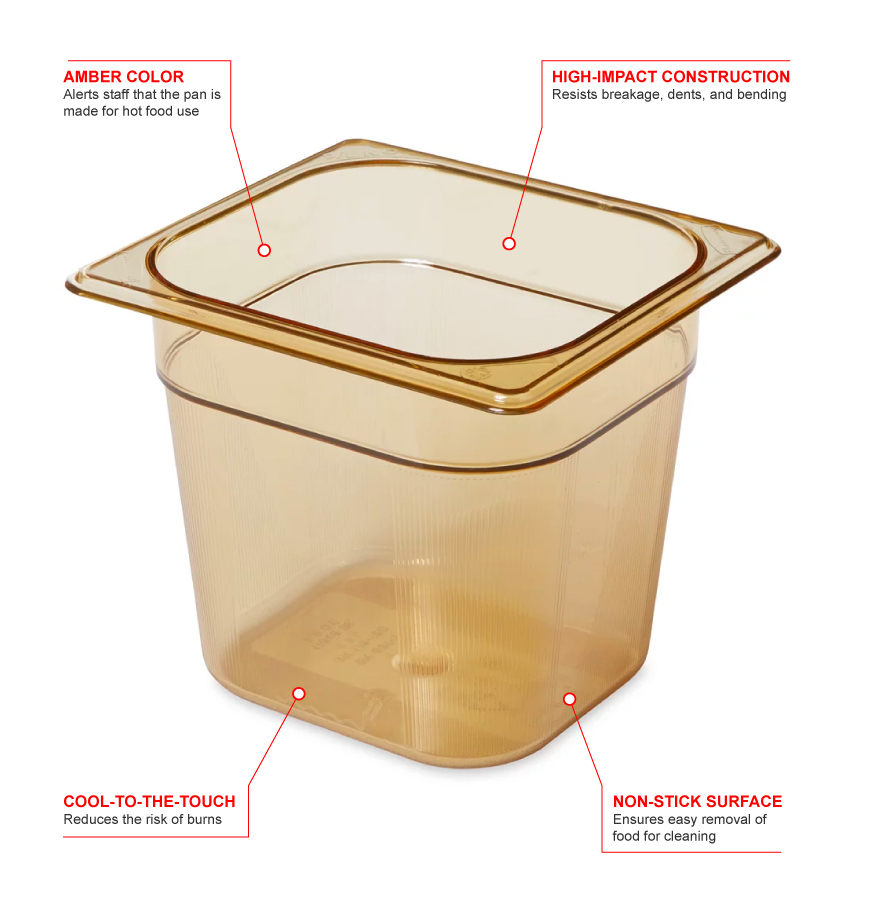 Rubbermaid 206p Features