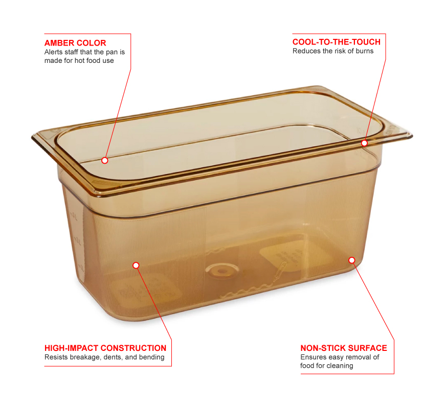 Rubbermaid 218p Features