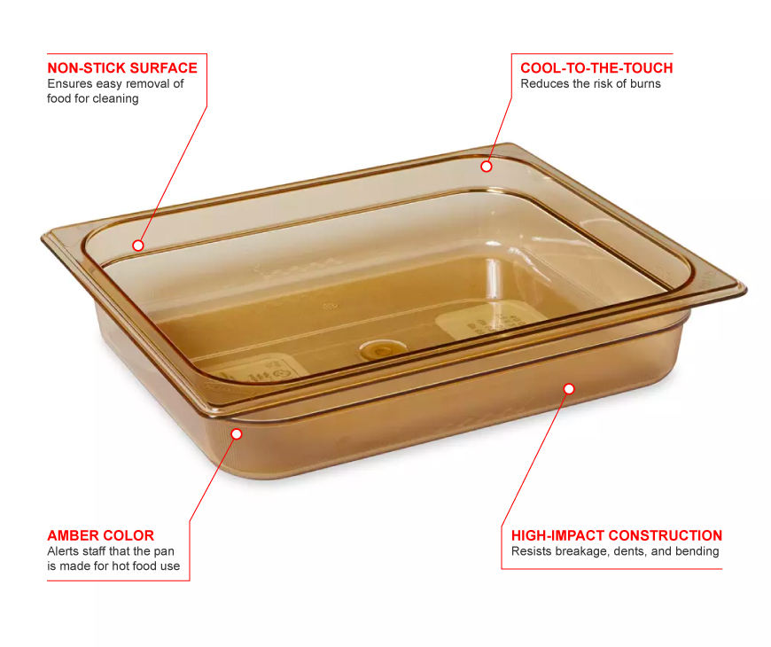 Rubbermaid 223p Features