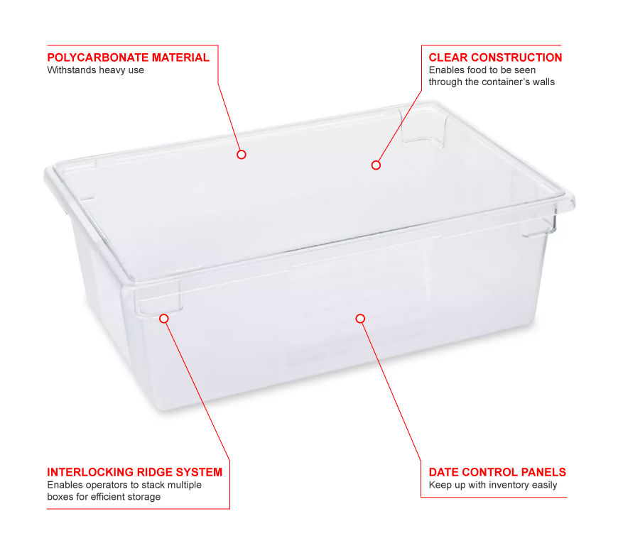 Rubbermaid 3300 Features