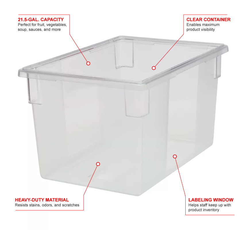 Rubbermaid 3301 Features