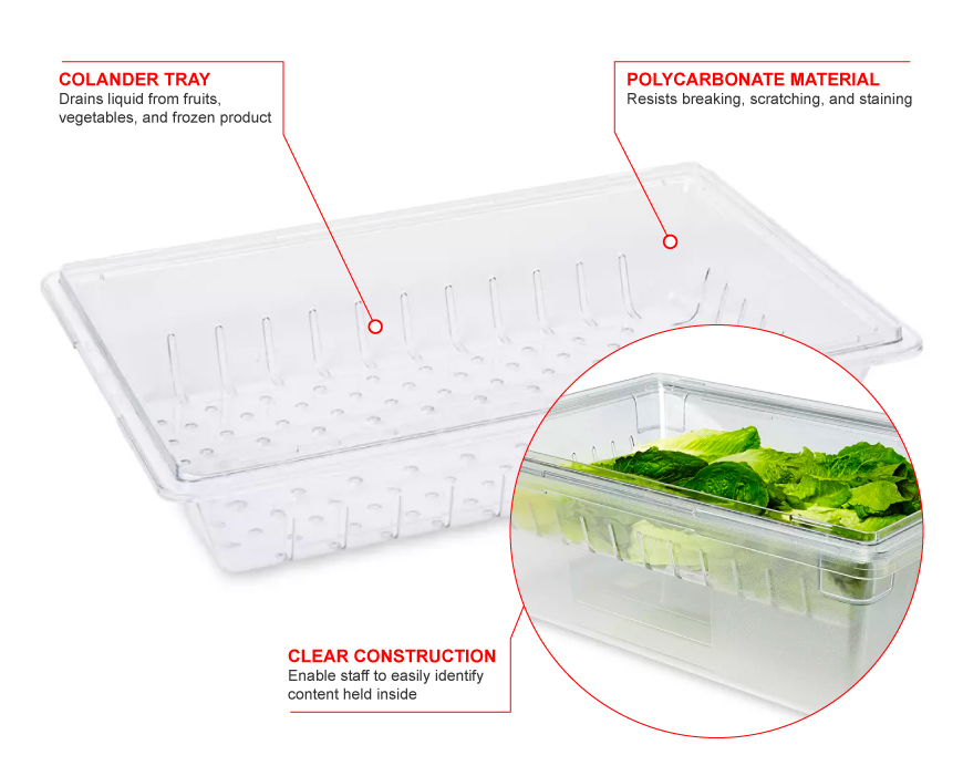 Rubbermaid 3303 Features