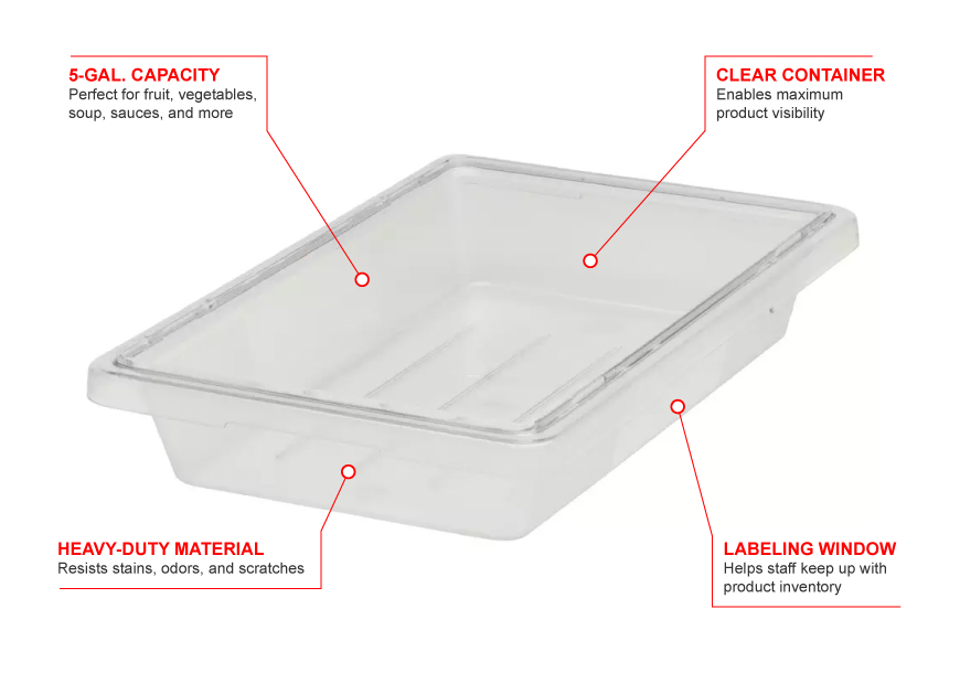 Rubbermaid 3304 Features