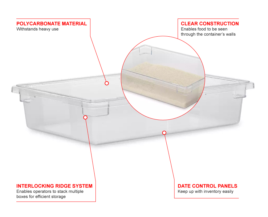 Rubbermaid 3308 Features