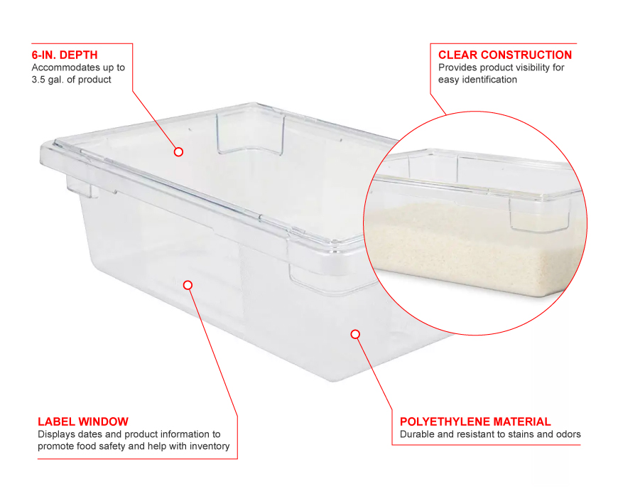 Rubbermaid 3309 Features