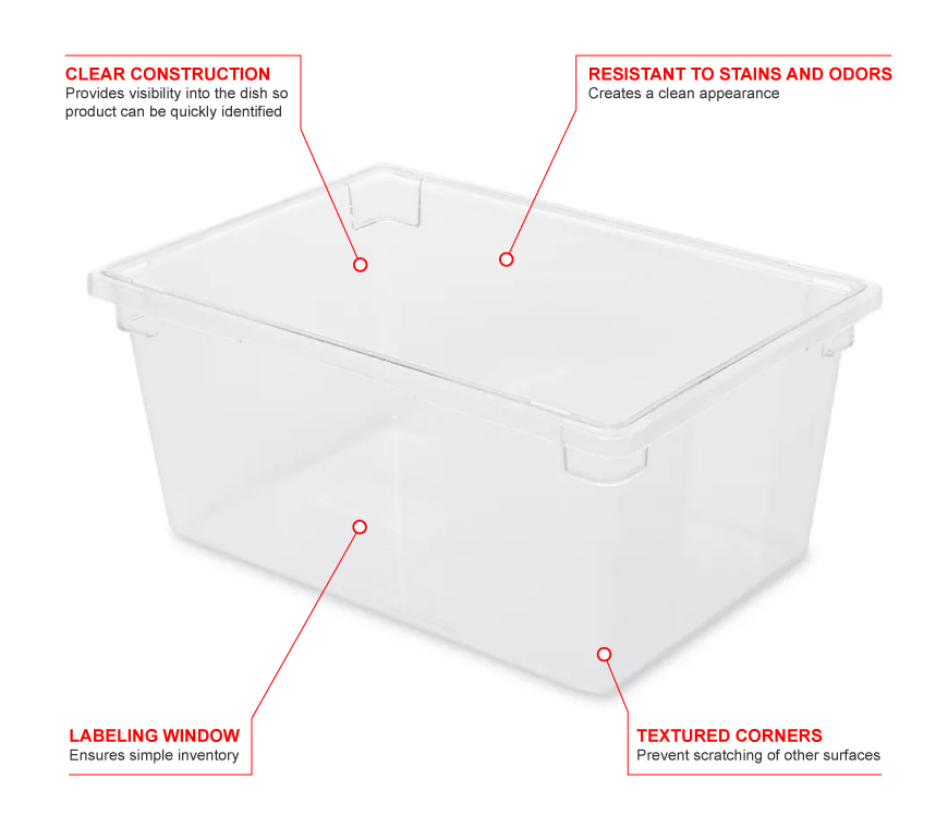 Rubbermaid 3328 Features
