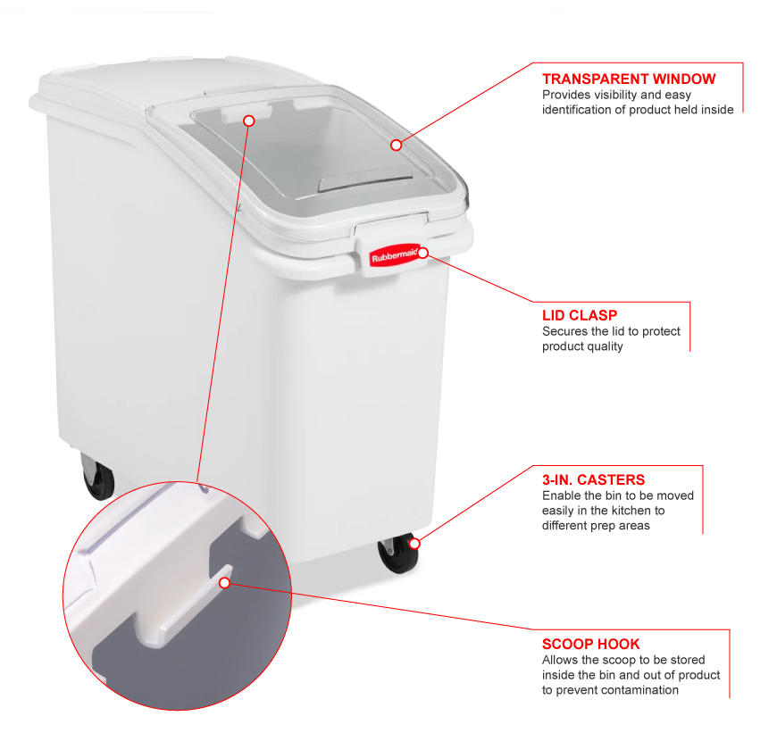 Rubbermaid 360288 Features