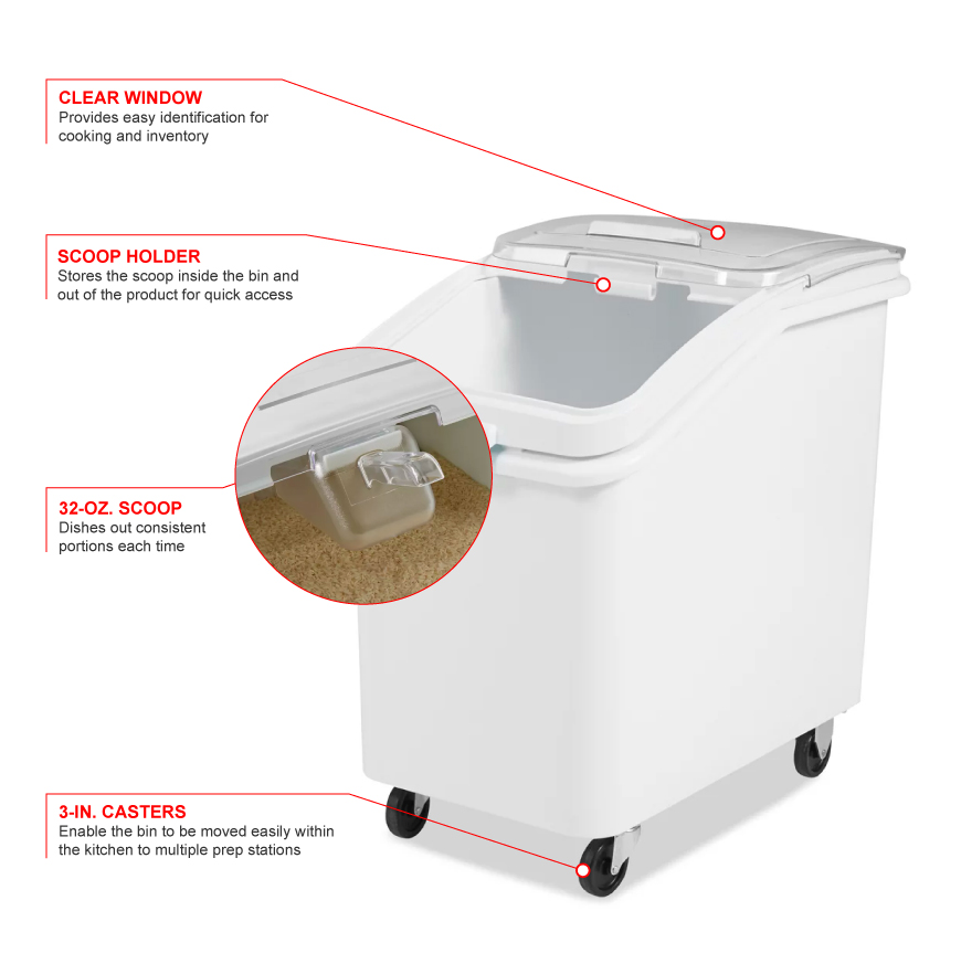 Rubbermaid 360388 Features
