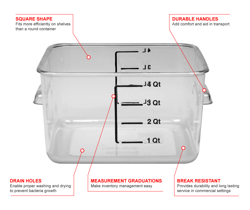 Rubbermaid 6304 Features