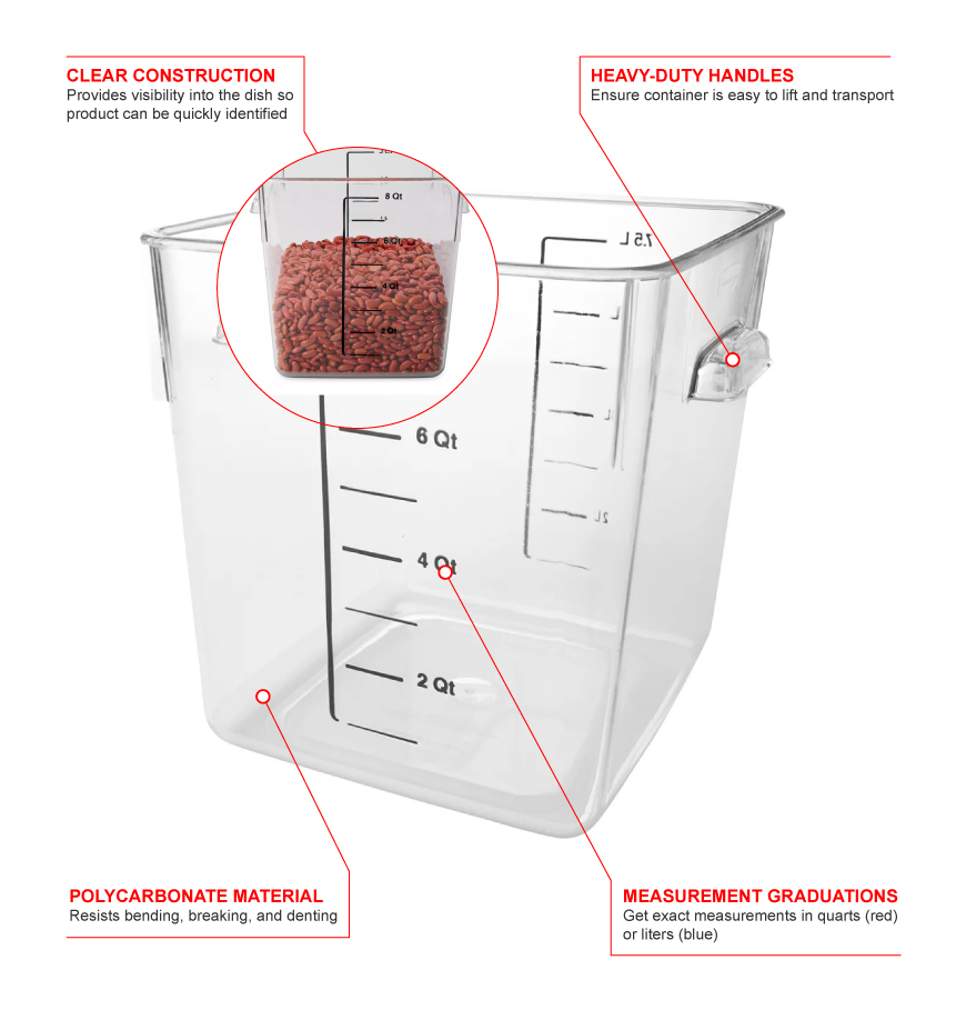 Rubbermaid 6308 Features