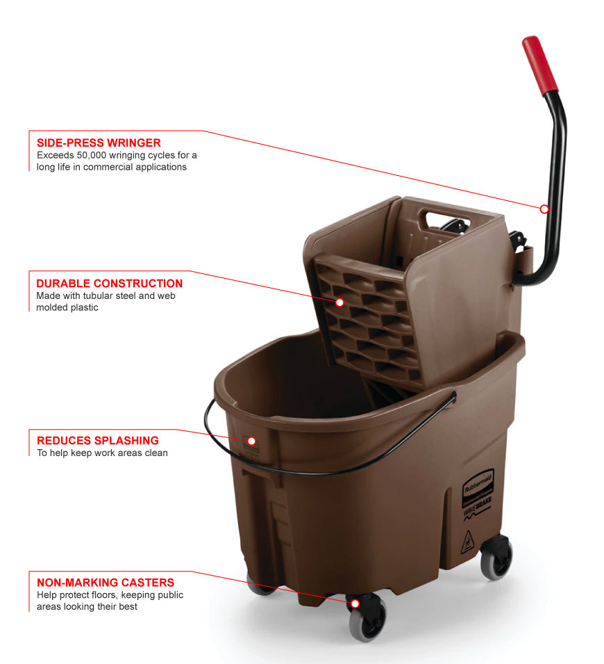 Rubbermaid 758088br Features