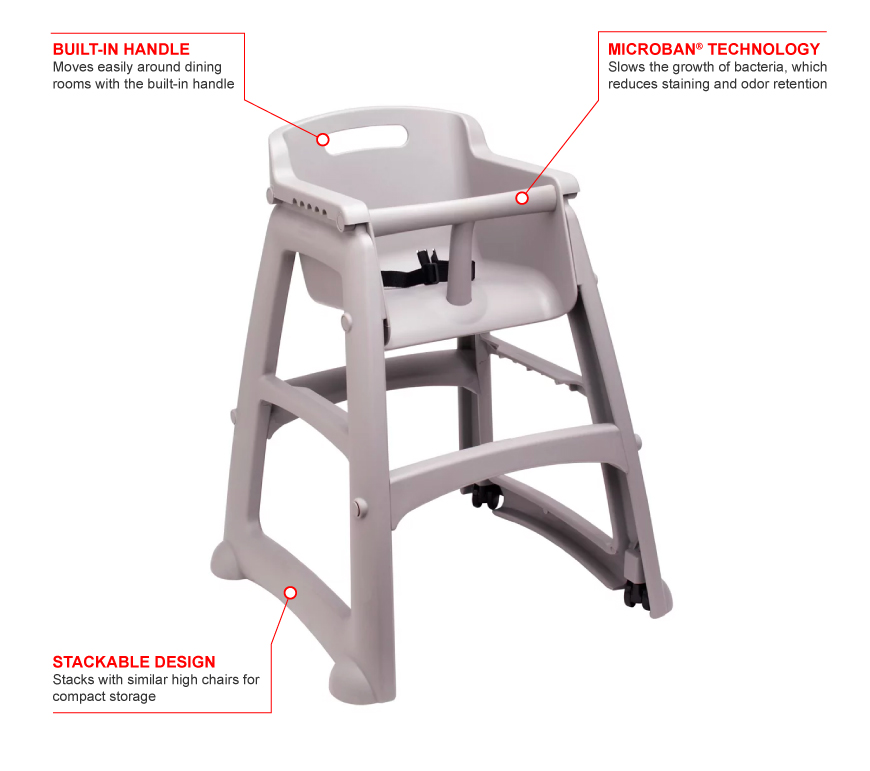 Rubbermaid 780508pl Features