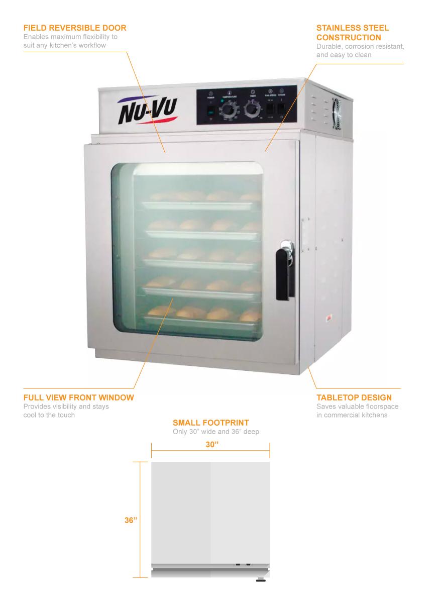Nu-Vu rm5t2403 Features