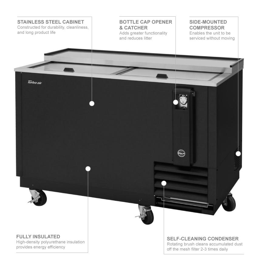 Turbo Air tbc50sbn6 Features