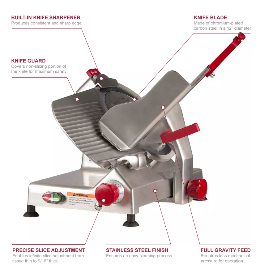 Berkel 827a Features