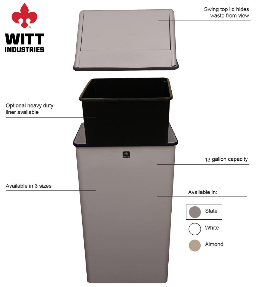 Witt Industries 1311htsl Features