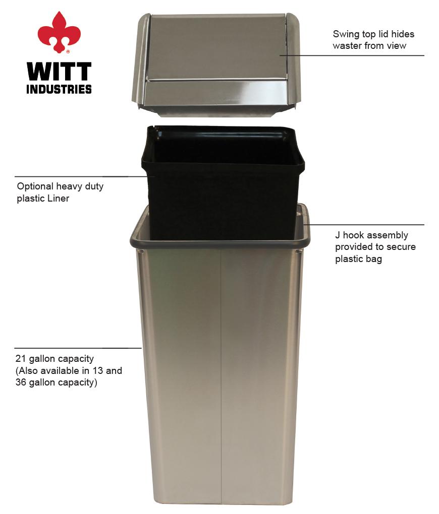 Witt Industries 1411htss Features
