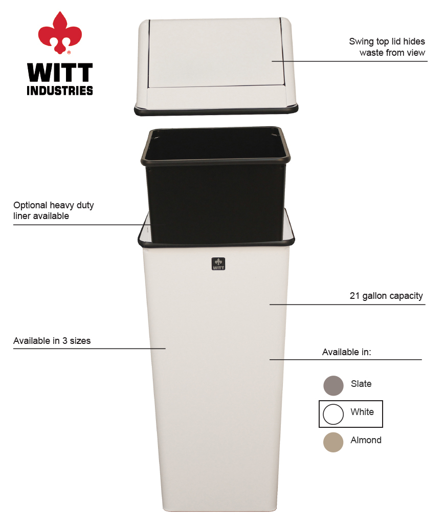 Witt Industries 1411htwh Features