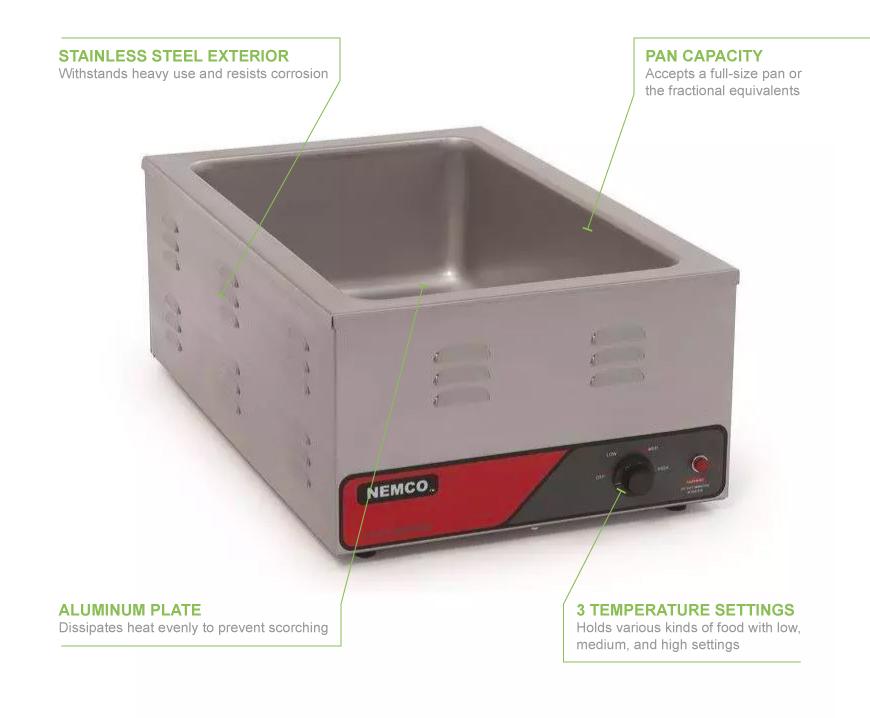 Nemco 6055A Features