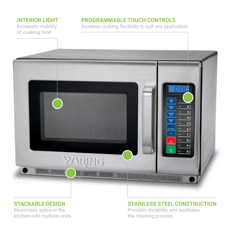 Waring wmo120 Features