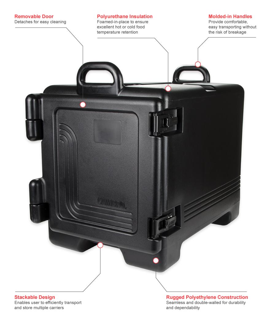 Cambro upc300110 Features