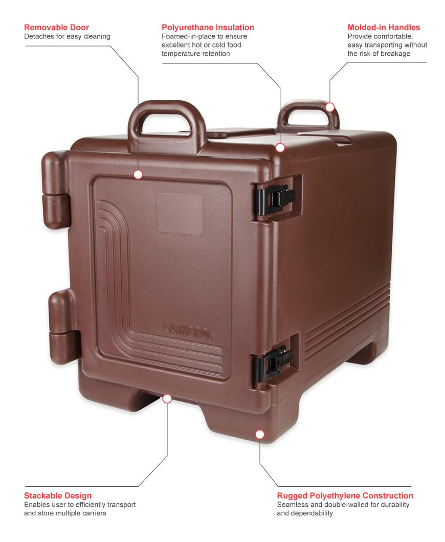 Cambro upc300131 Features