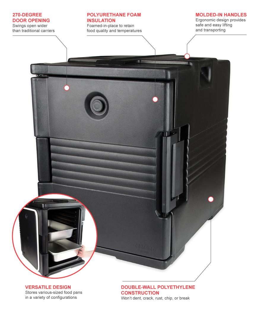 Cambro upc400110 Features