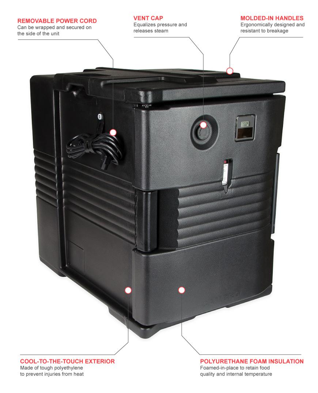 Cambro upch400110 Features