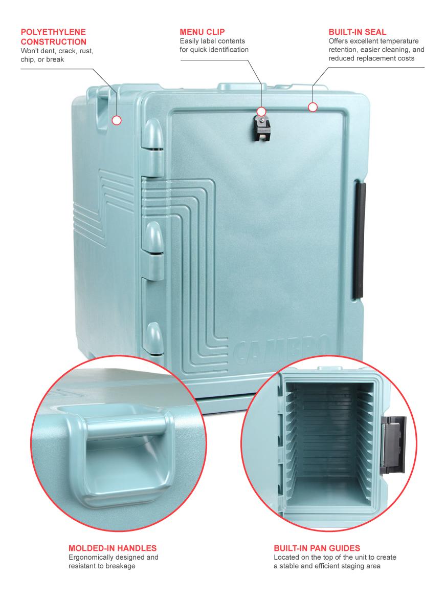Cambro upcs400401 Features