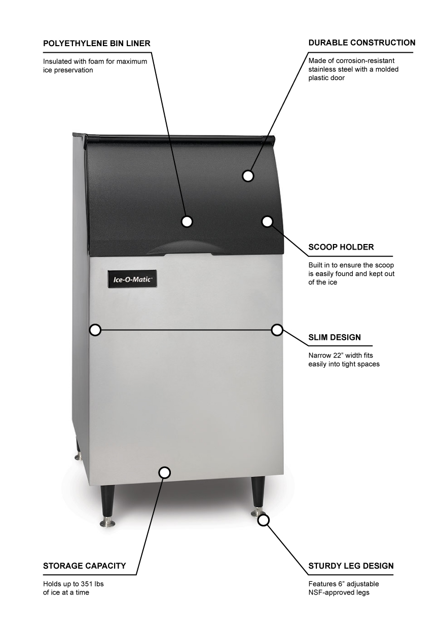Ice-O-Matic b42ps Features