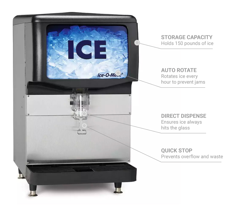 Ice-O-Matic iod150 Features