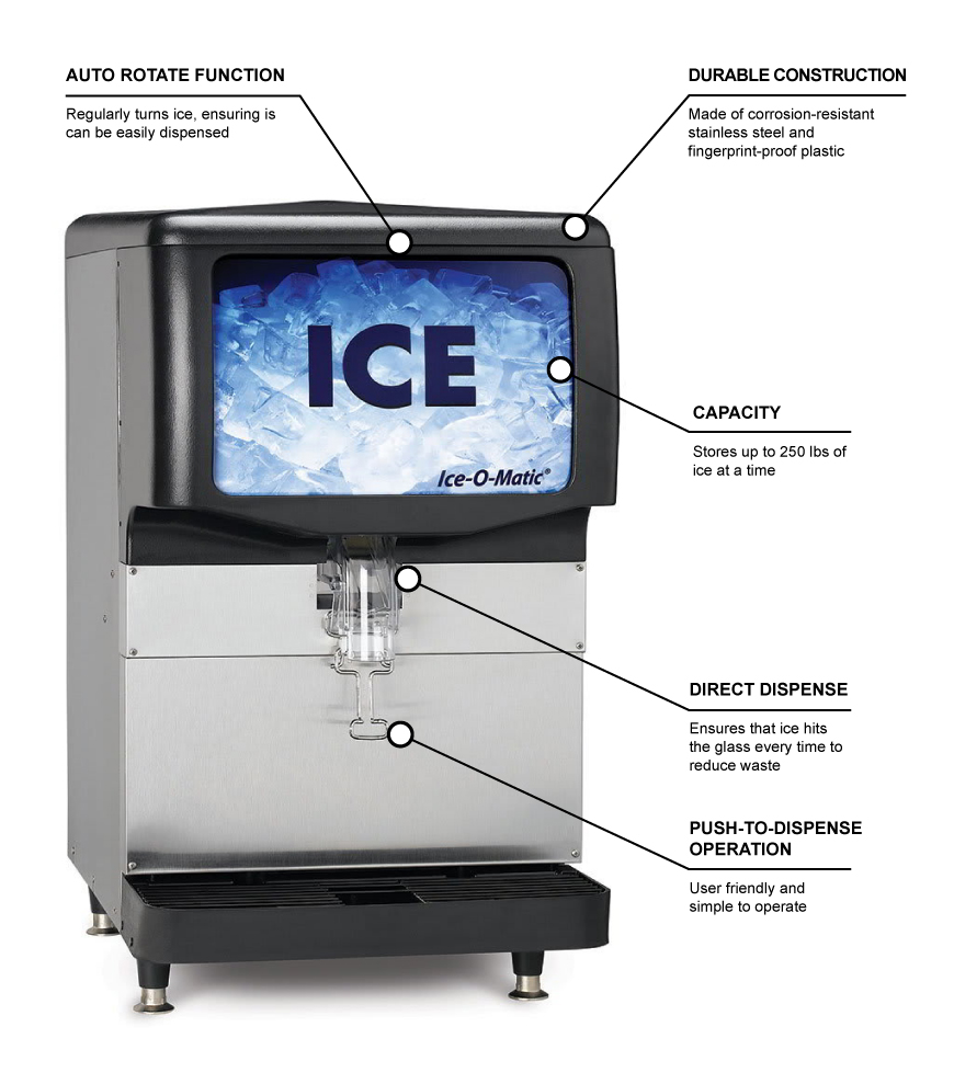 Ice-O-Matic iod250 Features