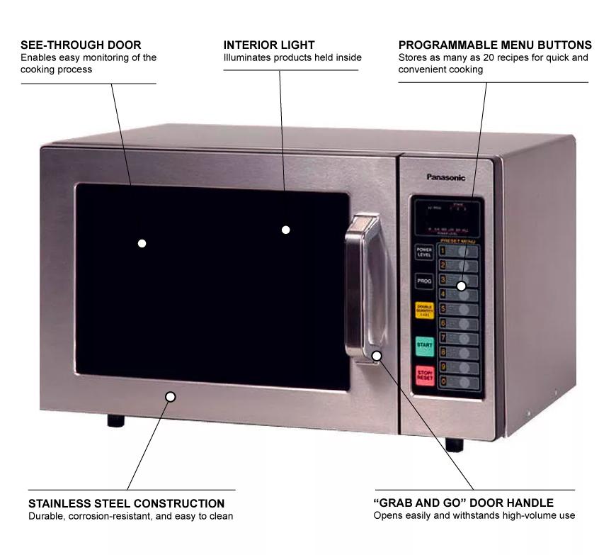 Panasonic ne1064f Features