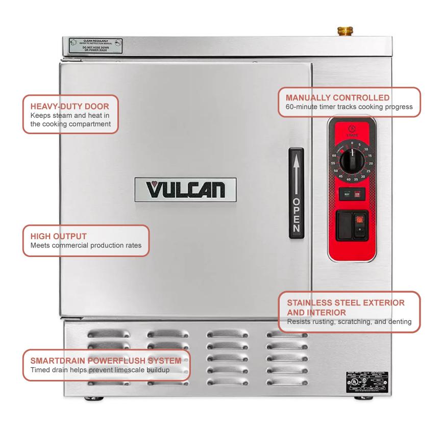 Vulcan C24EA3BSC2083 Features