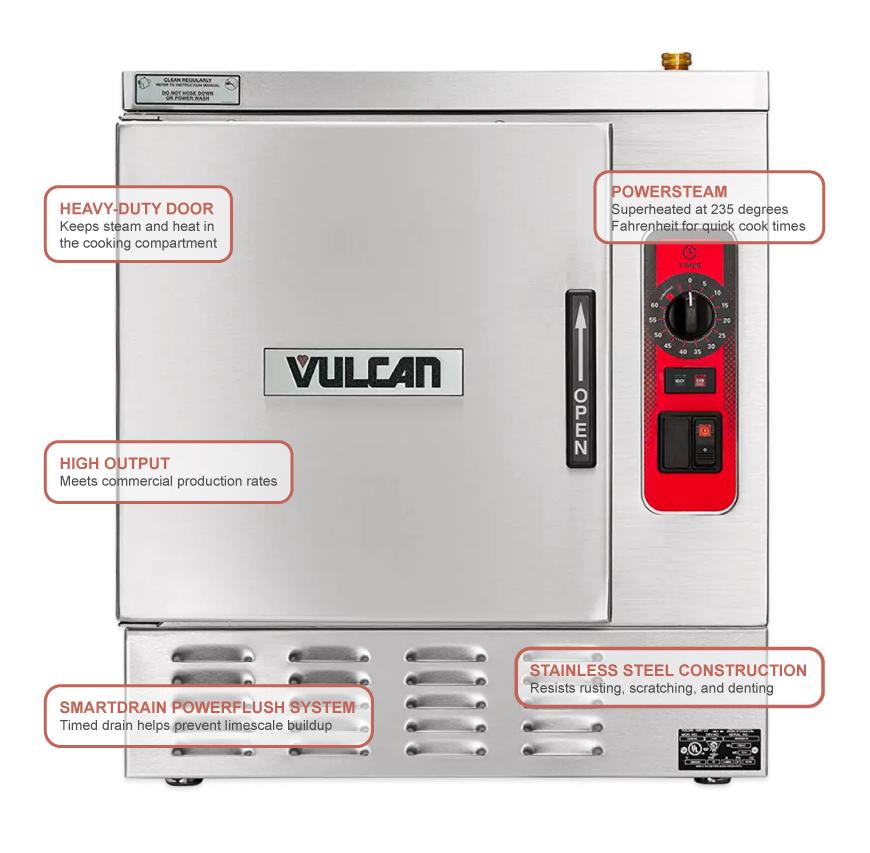 Vulcan C24EA3DLX2081 Features
