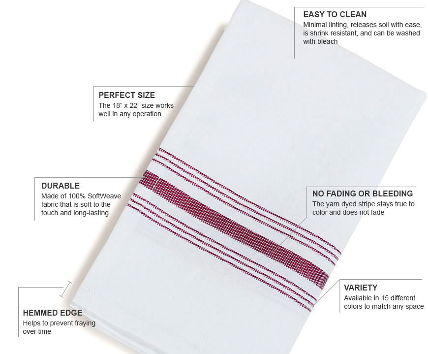 Bistro Striped Napkins