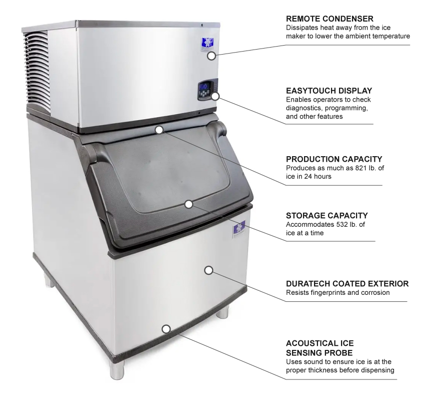 Manitowoc Ice IDF0900ND570 Features