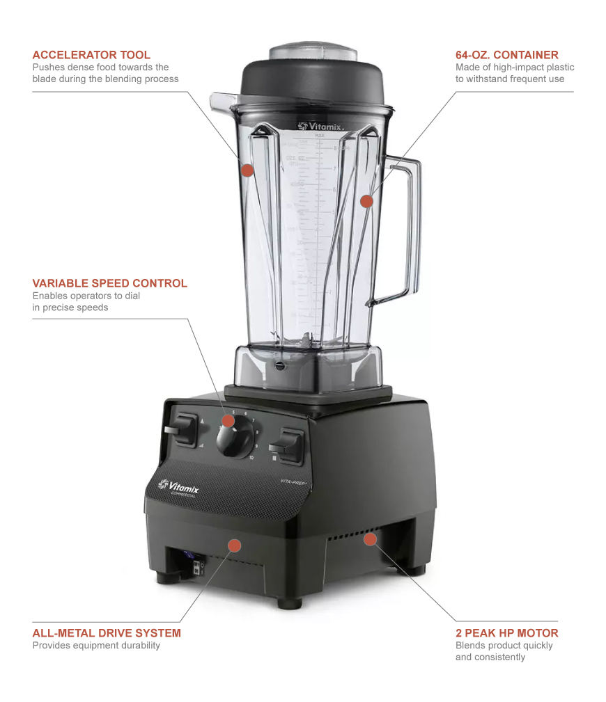 Vitamix 1002 Features