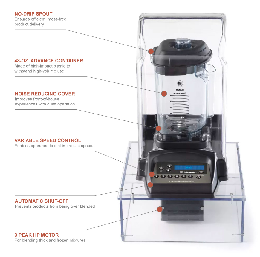 Vitamix 40010 Features