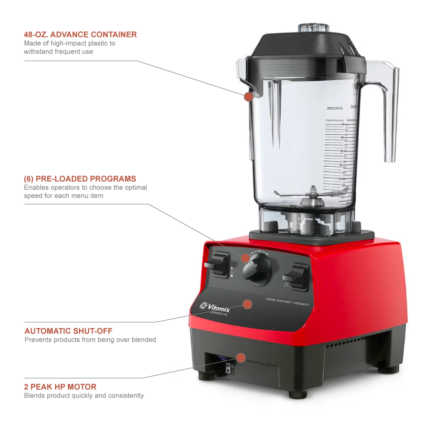 Vitamix 5085 Features